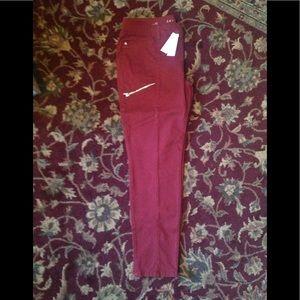 WHBM Skimmer Ankle pants NWT sz 12 $35